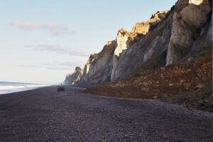 Lansdowne Farm - beach cliffs